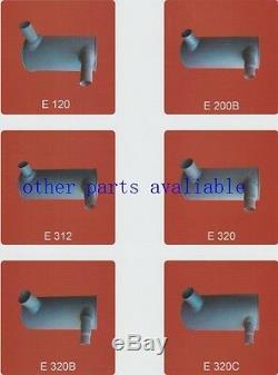 Sk230-6 Sk230-6e Muffler As With Clamp Fits Kobelco 6d34 Lq12p00009p1sk250-6