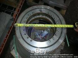 Slewing Ring Rotation Bearing for Bucket Trucks Boom Lifts Digger Derricks Crane