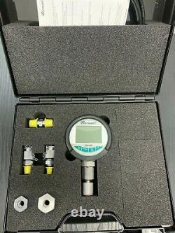 Stauff Digital Pressure Test Kit 0-600 Bar (8820 Psi) 2m Test Hose Plastic Case