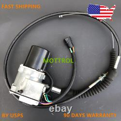 Throttle Motor AS GOVERNOR FITS CATERPILLAR CAT E312 312,311 SINGLE CABLE 5 PIN