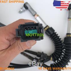 Throttle motor for CAT 315C, 330C E330C E325C, 7 PIN, SINGLE CABLE, FEDEX EXPRESS 1D