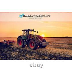 Tractor Seat with Backrest Black Base & Slid Track Mower Forklift Seating