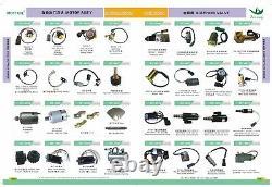 Wiper Motor Assy Fits Komatsu Pc100-6 Pc120-6 Pc200-6 Pc220-6 6d95,4d95 Engine
