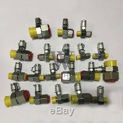 XZTK-60U Hydraulic Pressure Test Kit Fit For Caterpillar John Deere Excavator
