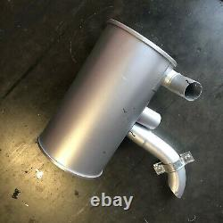 YT12P00008F1 muffler fits new holland e70sr