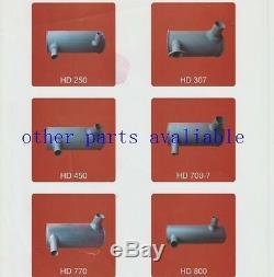 Zax230-3 Zax240-3 Zax250-3 Zax260-3 Muffler As Hitachi Excavator 4hk1 4625214
